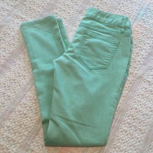 Mossimo Supply mint green jeans * ankle skinny